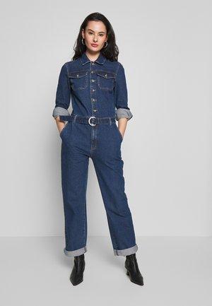 OBJSINYA - Jumpsuit - medium blue denim