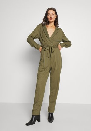 THELMA - Overal - burnt olive