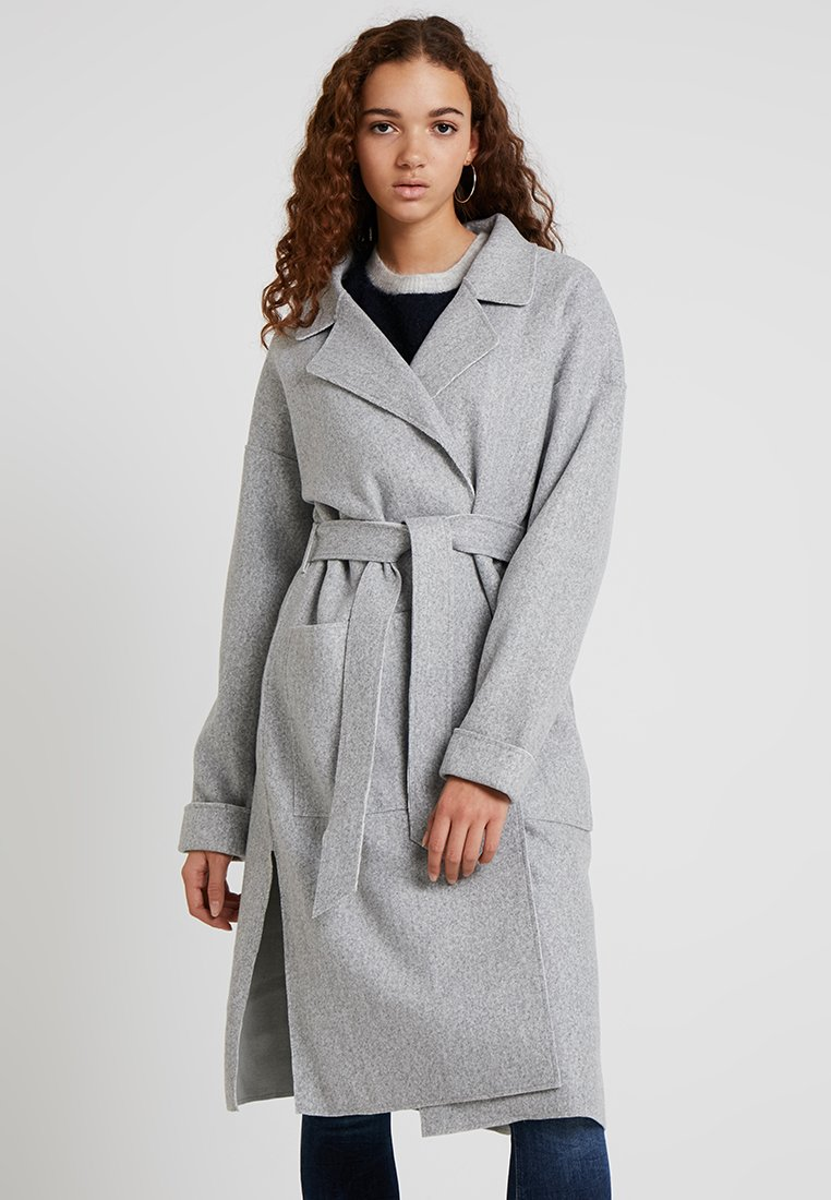 Object - OBJLENA COATIGAN - Classic coat - light grey melange