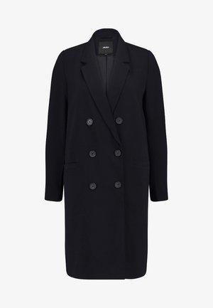 OBJBEAU LONG COAT - Frakker / klassisk frakker - black