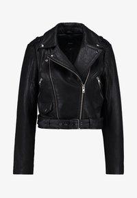 Object - Veste en cuir - black - 4