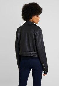Object - Veste en cuir - black - 2