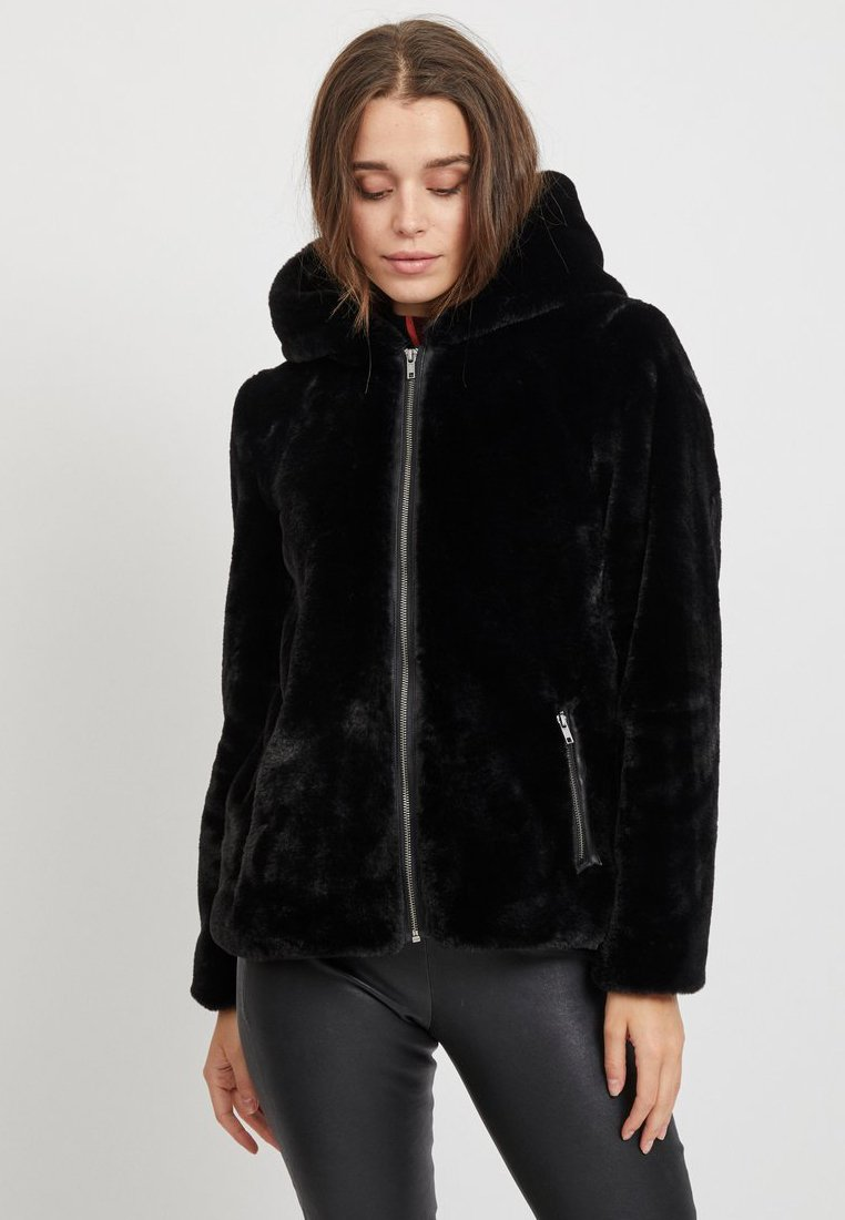 Object - OBJSANDIE  - Winter jacket - Black