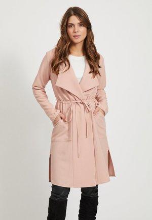 Manteau classique - misty rose