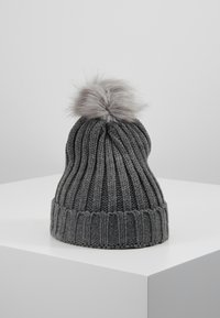Object - OBJASTRID BEANIE - Beanie - medium grey melange - 0