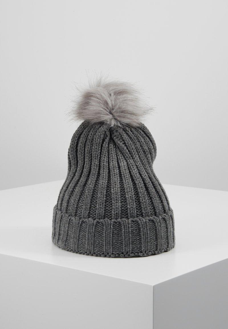 Object - OBJASTRID BEANIE - Beanie - medium grey melange