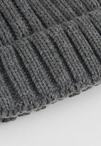 Object - OBJASTRID BEANIE - Beanie - medium grey melange - 4
