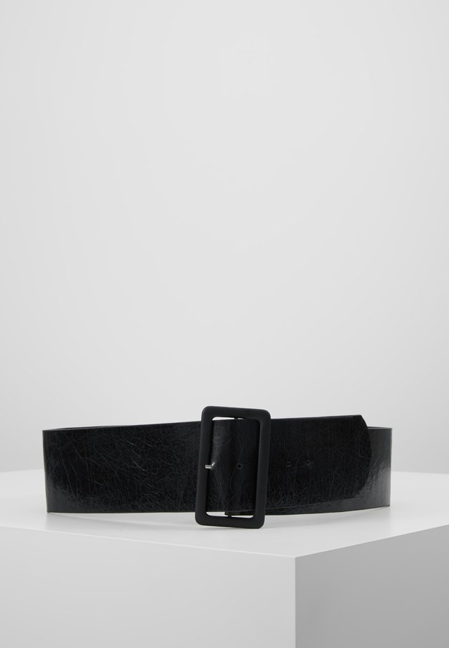 OBJHETTY WIDE BELT - Skärp - black