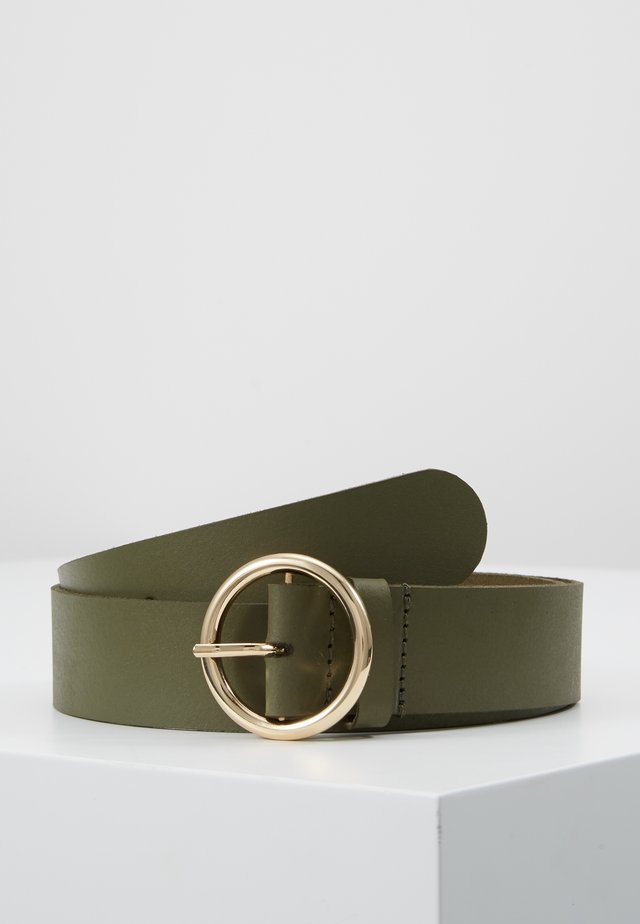 OBJLULU L BELT  - Belt - burnt olive