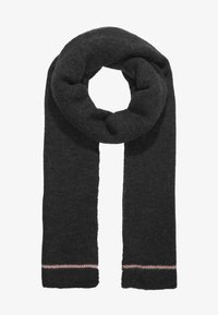 Object - Sjaal - dark grey melange - 1