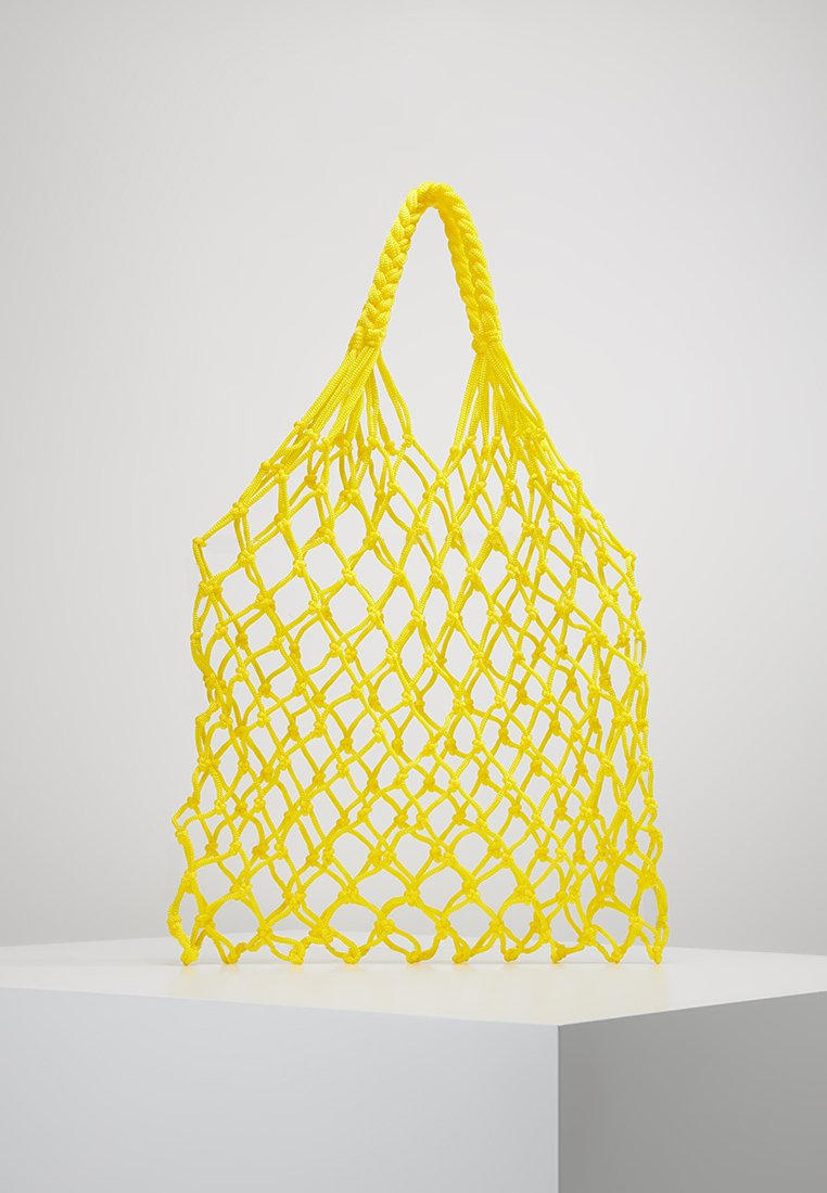 Object - OBJVIC NET BAG - Cabas - yellow