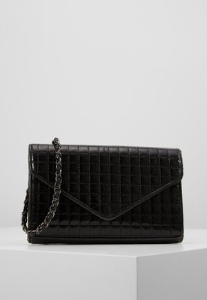 OBJHETTY QUILT SMALL CROSSOVER - Clutch - black