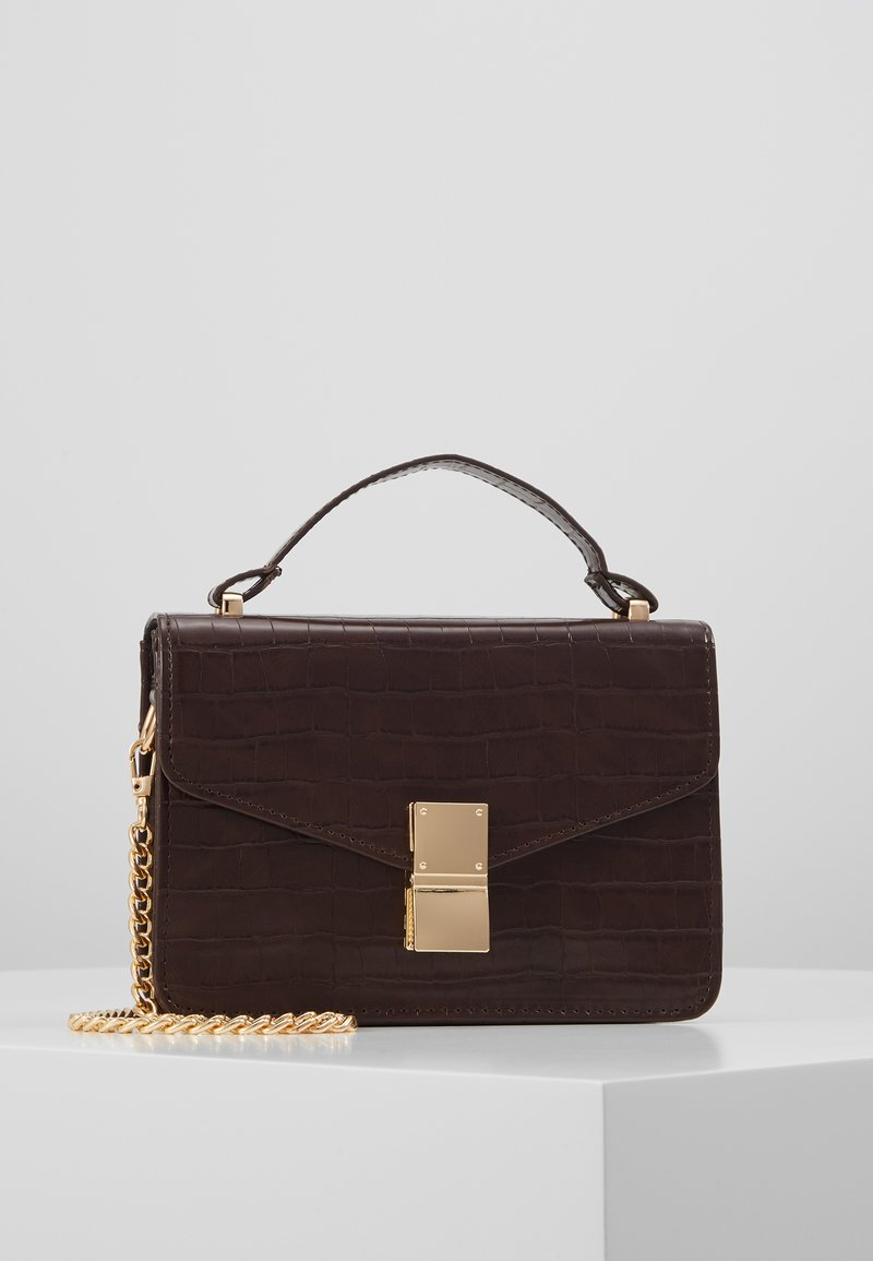 Object - OBJHILLI CROSSOVER - Handtas - chicory coffee