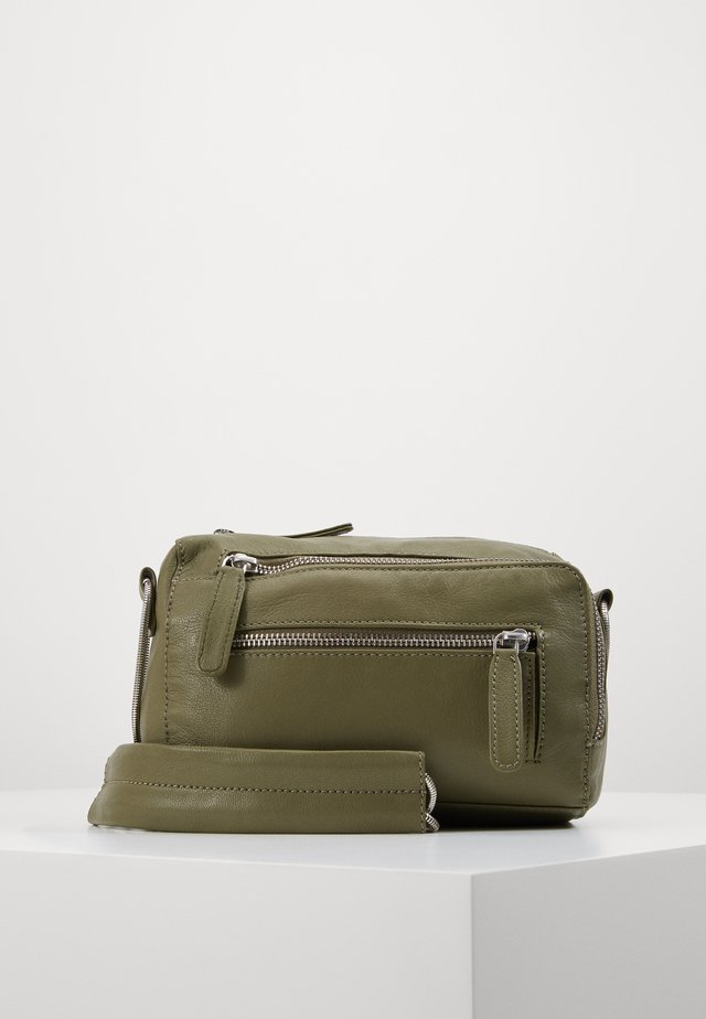 OBJNETY CROSSOVER - Across body bag - burnt olive