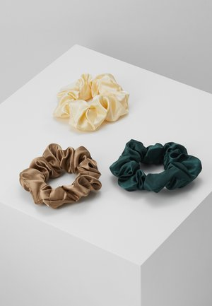 OBJMETTE SCRUNCHIE 3 PACK - Hair styling accessory - incense/flan/scarab