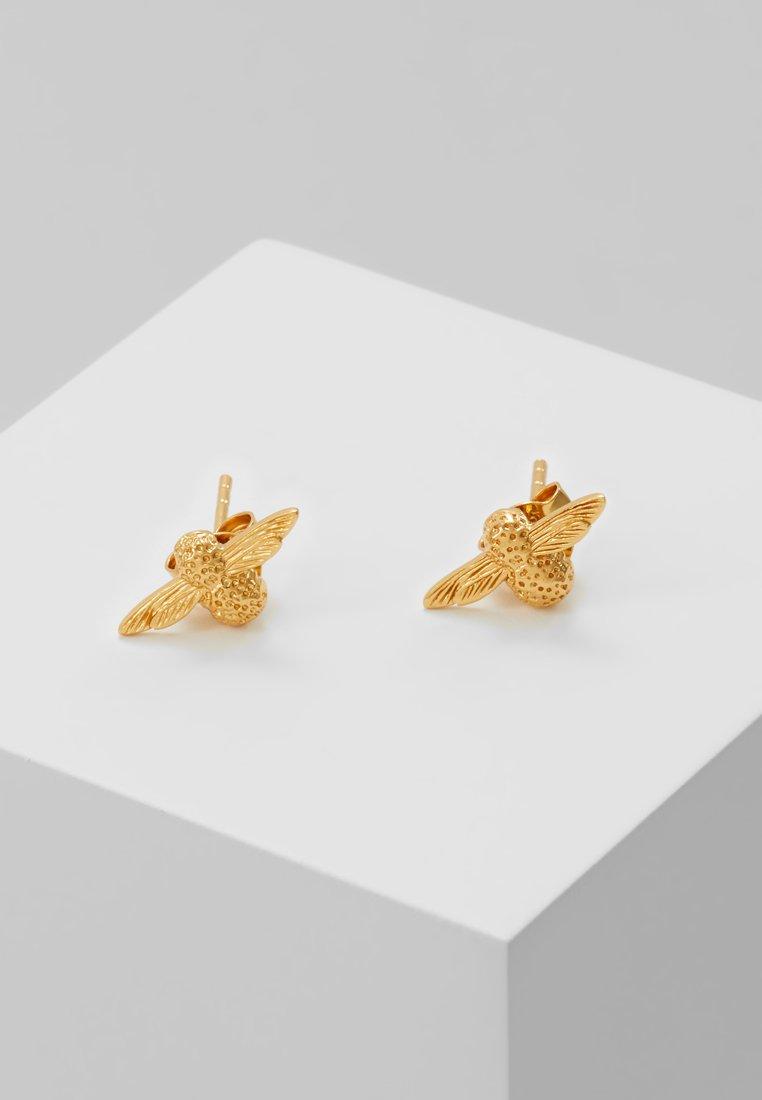 Olivia Burton - 3D BEE - Pendientes - gold-coloured