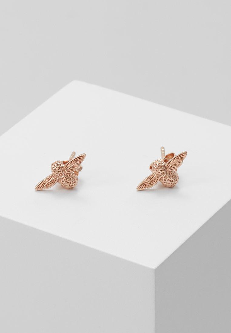 Olivia Burton - 3D BEE - Earrings - roségold-coloured