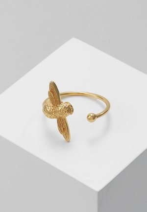 3D BEE - Ring - gold-coloured