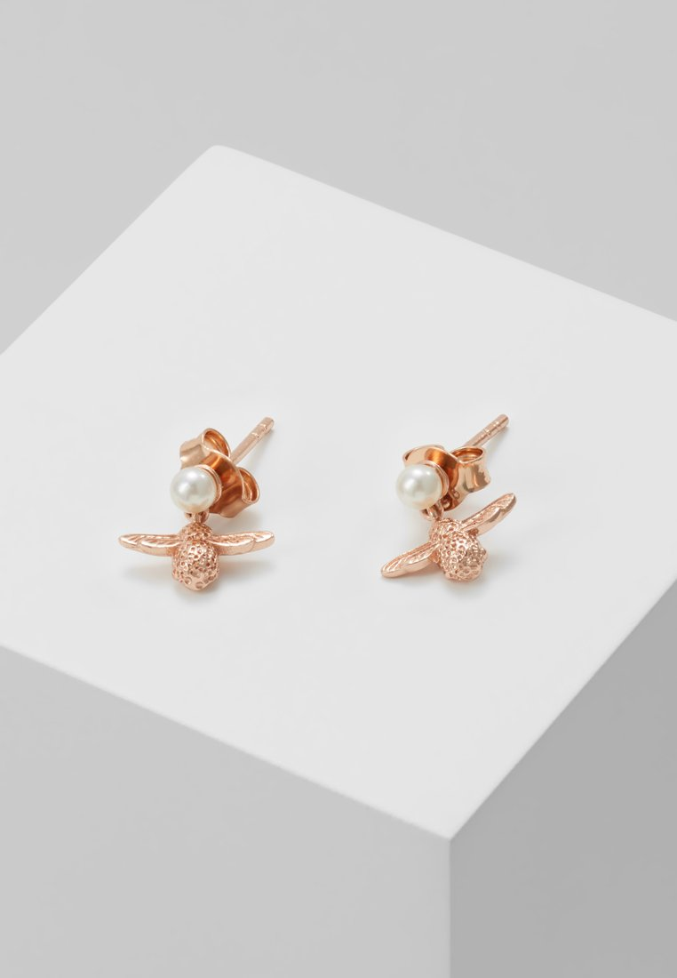 Olivia Burton - BEE - Pendientes - roségold-coloured