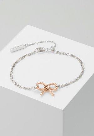 VINTAGE BOW - Náramek - roségold-colouered/silver-coloured