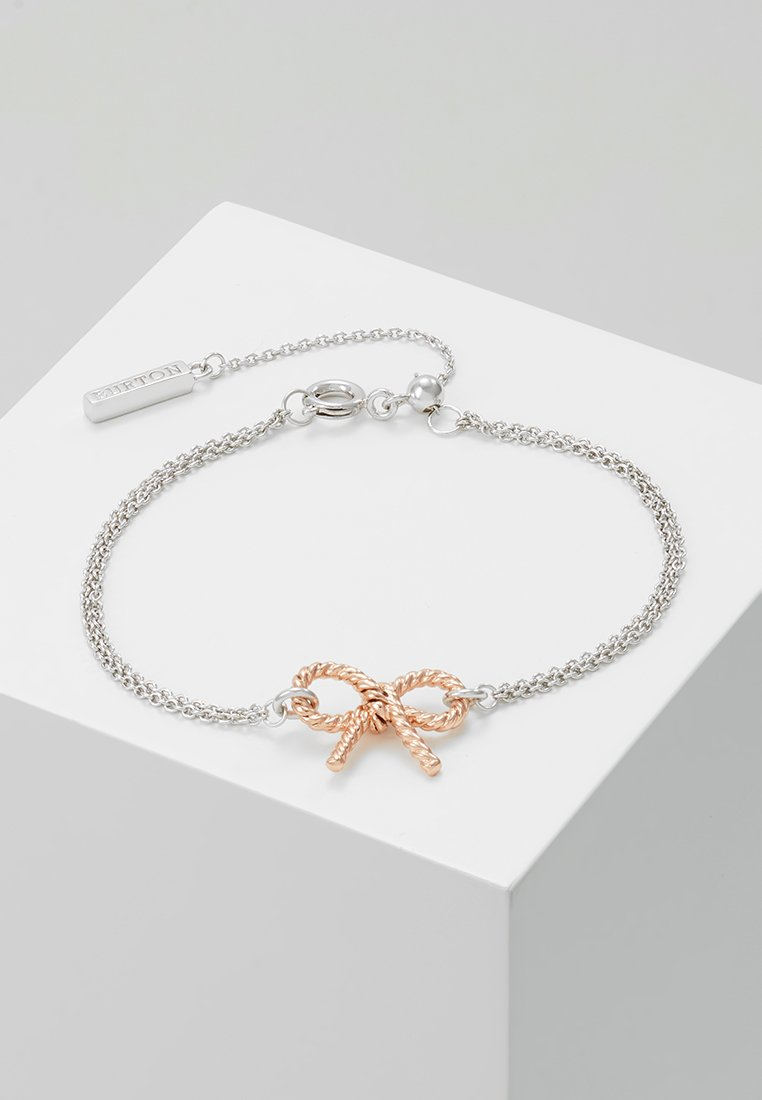 Olivia Burton - VINTAGE BOW - Bracelet - roségold-colouered/silver-coloured