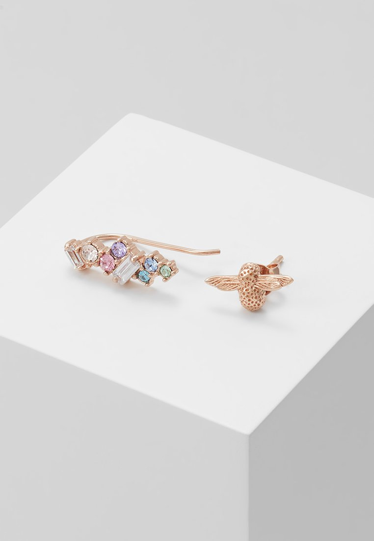 Olivia Burton - RAINBOW BEE - Boucles d'oreilles - roségold-coloured