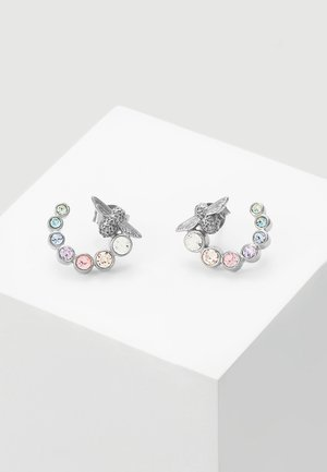 RAINBOW BEE - Boucles d'oreilles - silver-coloured