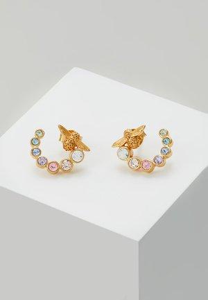 RAINBOW BEE - Earrings - gold-coloured