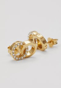 Olivia Burton - BEJEWELLED INTERLINK EARRINGS - Náušnice - gold-coloured - 5