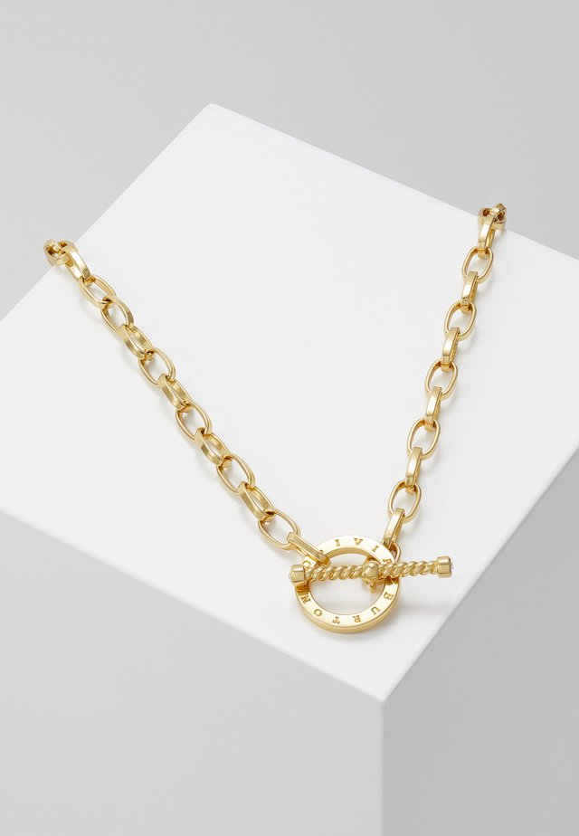 BEJEWELLED T-BAR NECKLACE - Necklace - gold-coloured