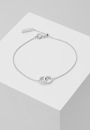 BEJEWELLED INTERLINK CHAIN BRACELET - Armband - silver-coloured
