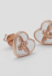 Olivia Burton - LOVE BUG STUDS - Earrings - roségold-coloured - 5