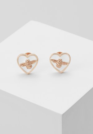 LOVE BUG STUDS - Boucles d'oreilles - roségold-coloured
