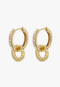 Olivia Burton - RAINBOW INTERLINK HUGGIE HOOPS - Earrings - gold-coloured - 4
