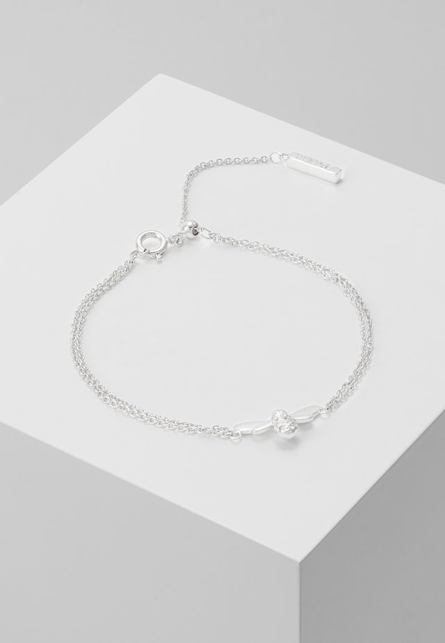 LUCKY BEE CHAIN BRACELET - Armband - silver-coloured