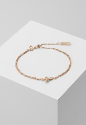 LUCKY BEE CHAIN BRACELET - Armbånd - rose gold-coloured