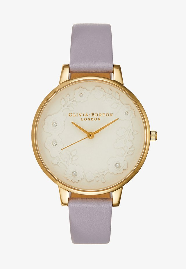Watch - parma violet / gold-coloured