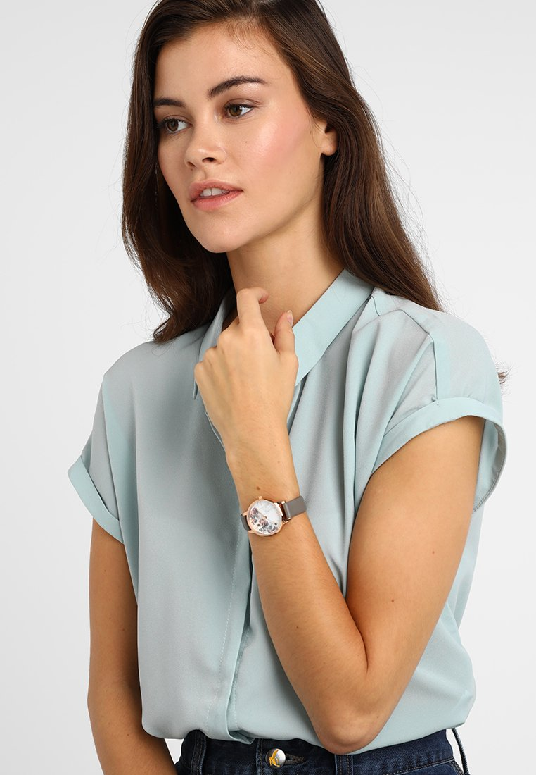 Olivia Burton - MARBLE  - Horloge - rosegold-coloured