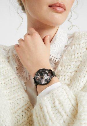 SIGNATURE FLORALS - Watch - schwarz