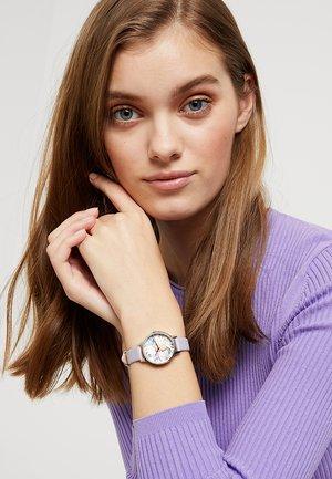 BEJEWELLED FLORALS - Horloge - parma violet/roségold-coloured/silver-coloured