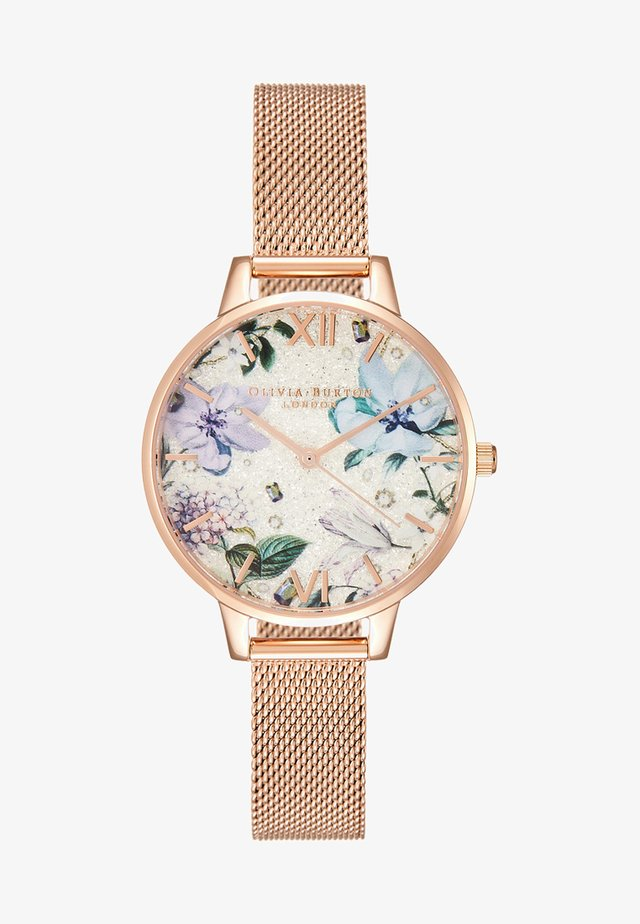 BEJEWELLED FLORALS - Uhr - rose gold-coloured