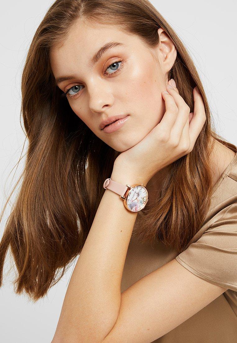 Olivia Burton - PAINTERLY PRINTS - Hodinky - dusty pink