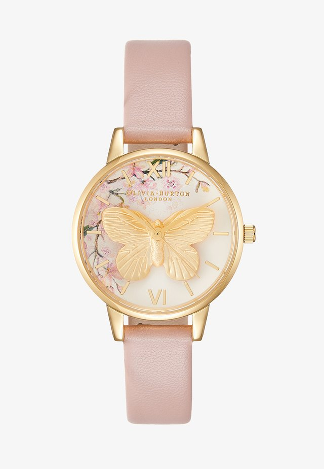 PRETTY BLOSSOM - Watch - rose/sand/gold-coloured