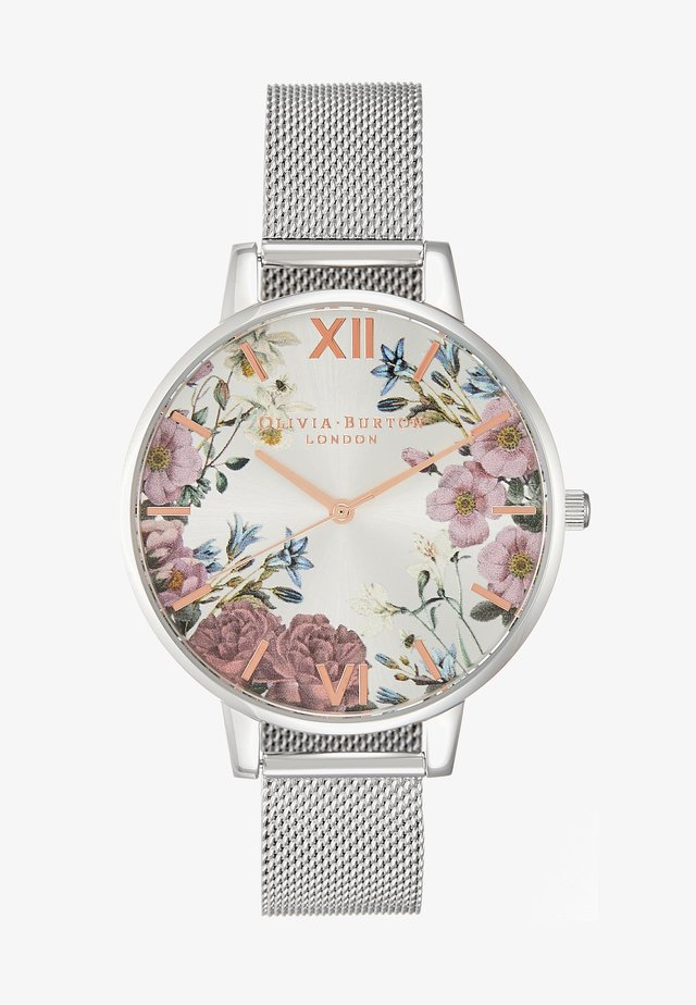 BRITISH BLOOMS - Uhr - silver-coloured