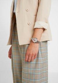 Olivia Burton - MARBLE FLORALS - Watch - silver-coloured - 0