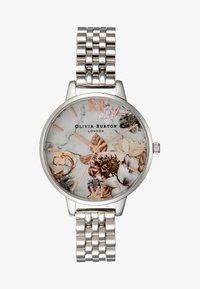 Olivia Burton - MARBLE FLORALS - Watch - silver-coloured - 1