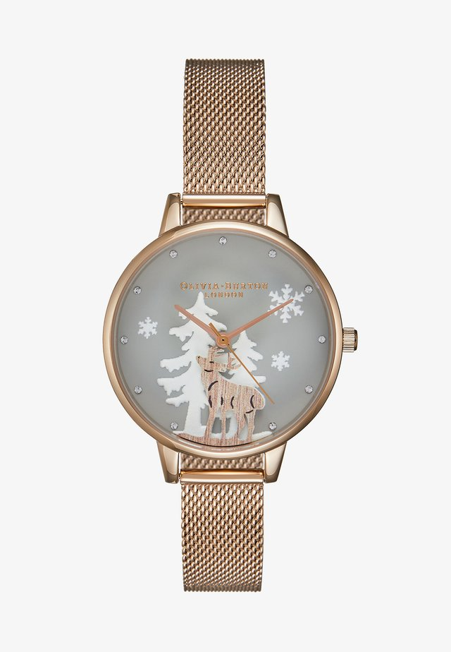 WINTER WONDERLAND - Orologio - roségold-coloured