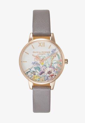 ENCHANTED GARDEN - Horloge - grau/lila