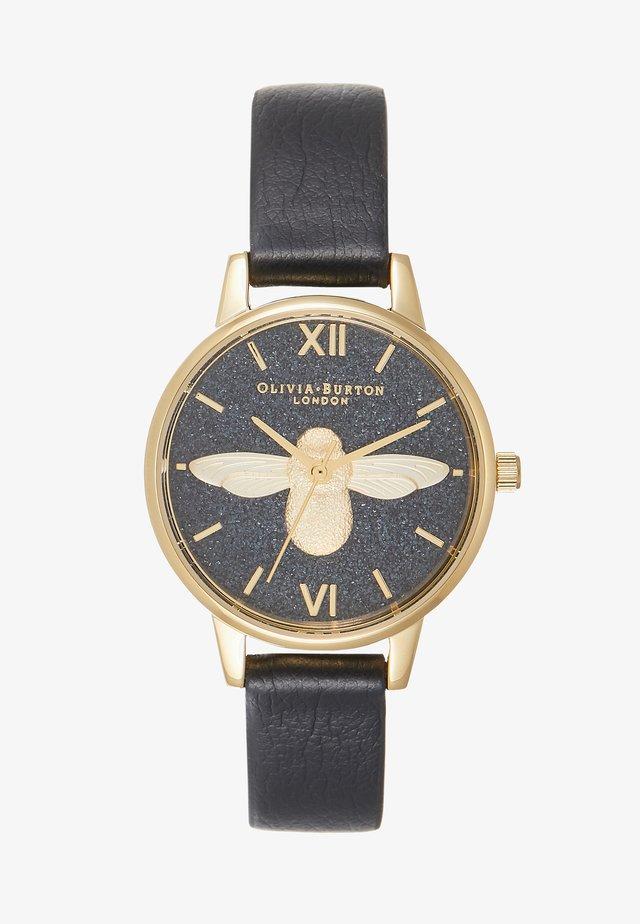 GLITTER DIAL - Watch - schwarz