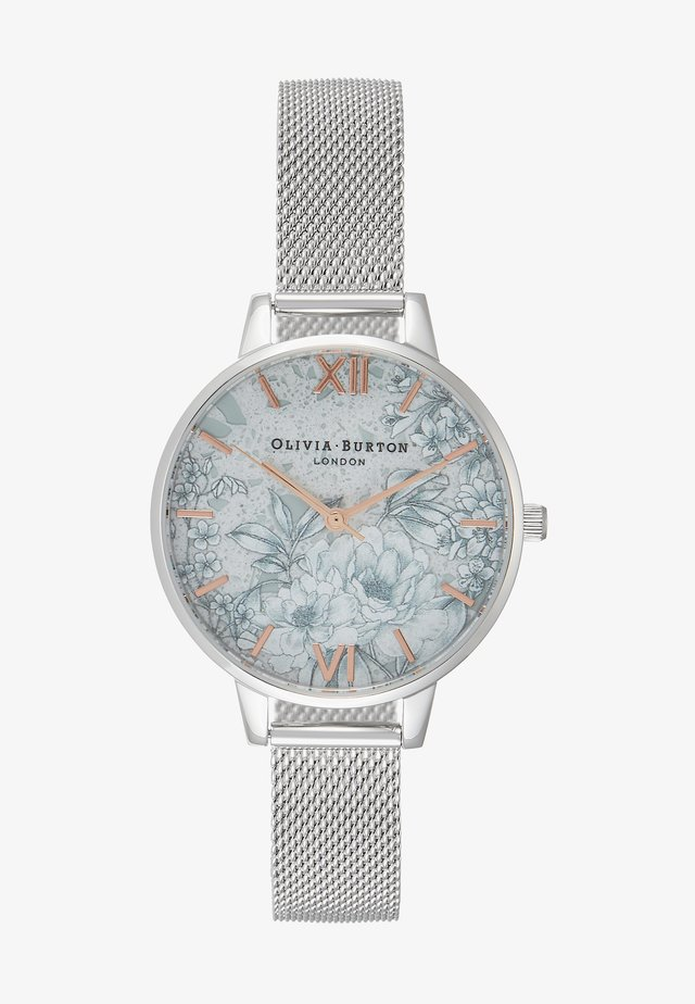TERRAZZO FLORAL - Horloge - silber-coloured